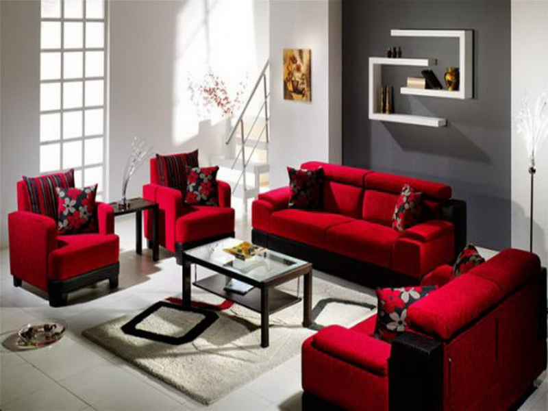 Nice-Red-Sofa-Living
