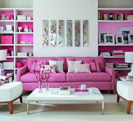 Pink-white grace